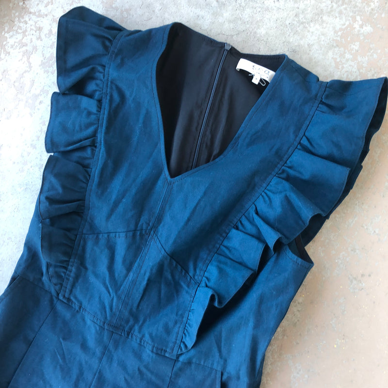 Sea New York Navy Jumpsuit, Size 8