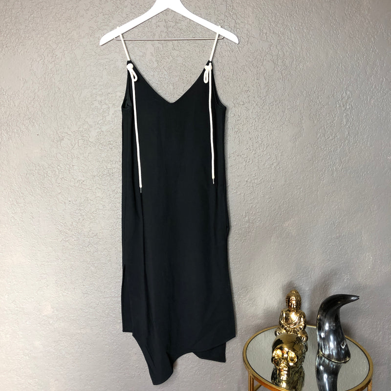 Bassike Black Dress, Size 00