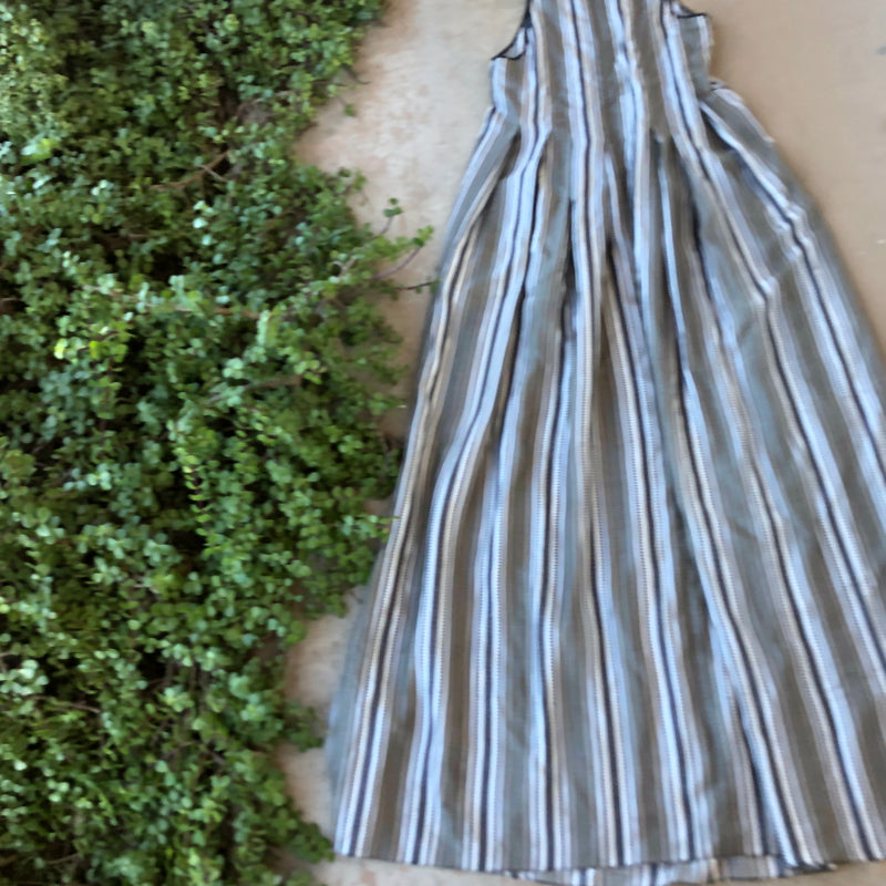 Maskit Stripe Maxi Dress, Fits a Small