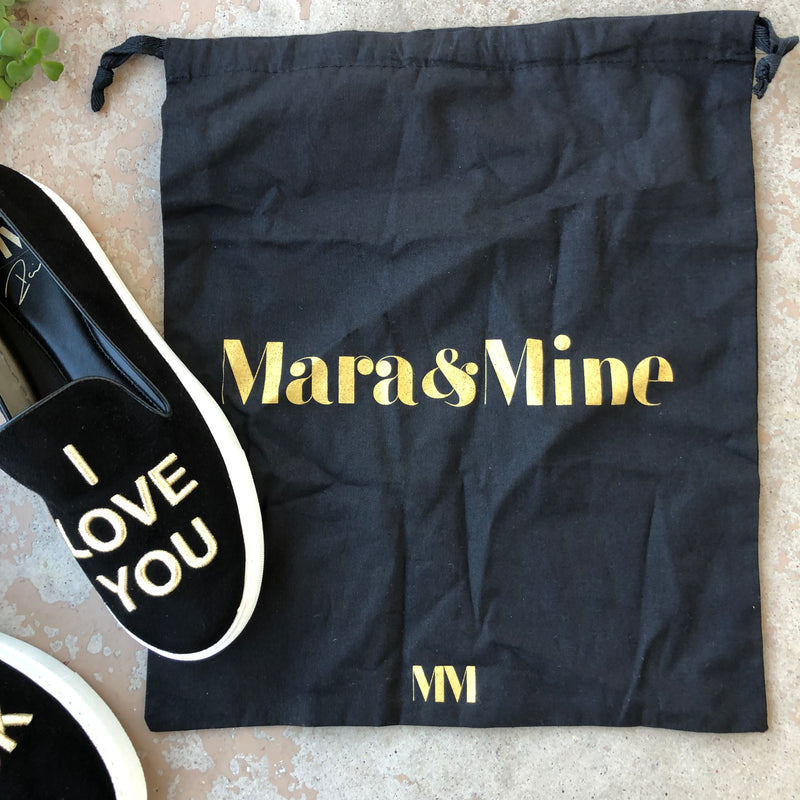 Mara & Mine MM I Love You Sneakers, Size 10.5