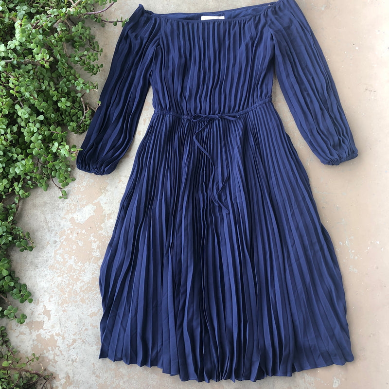 Gal Meets Glam Navy Dress, Size 12