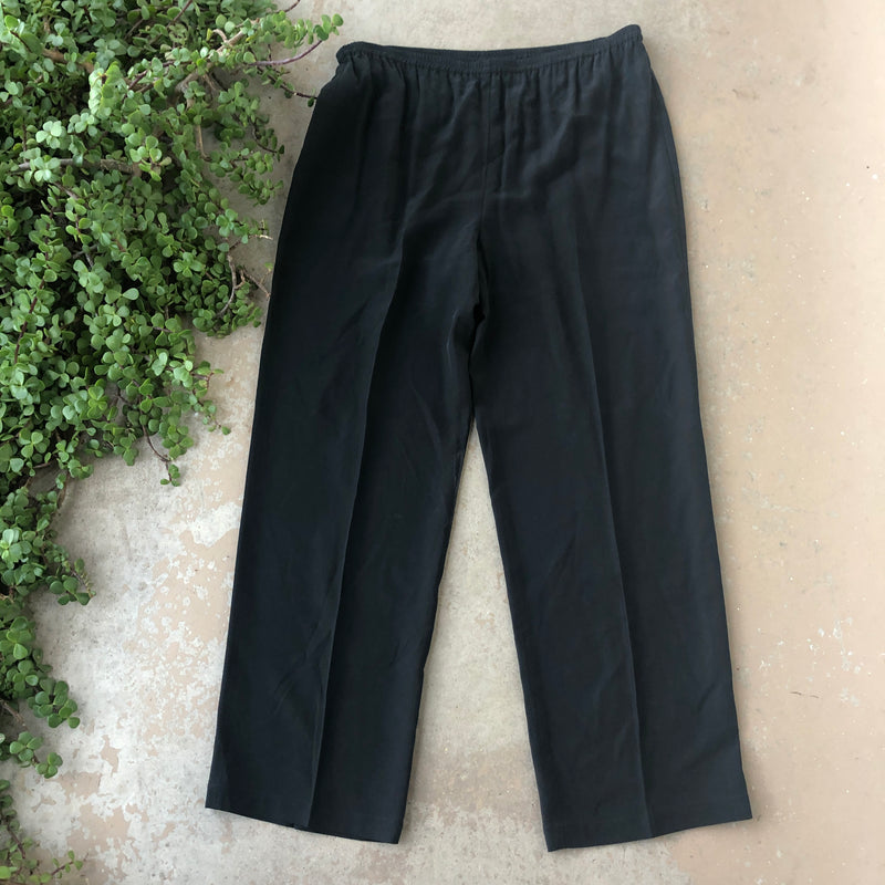 Eileen Fisher Black Pants, Size Small (Fits like Large)