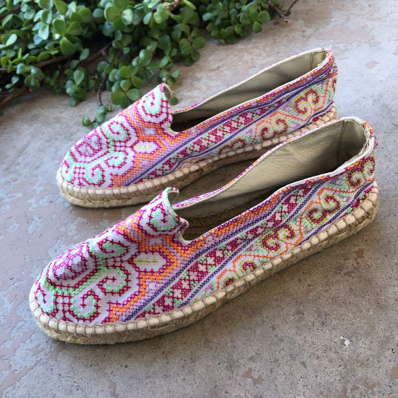 MAHABI Anthropologie Espadrilles, Size 37 (US 7)