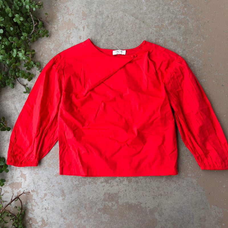 HABITUAL Red Top, Size Medium