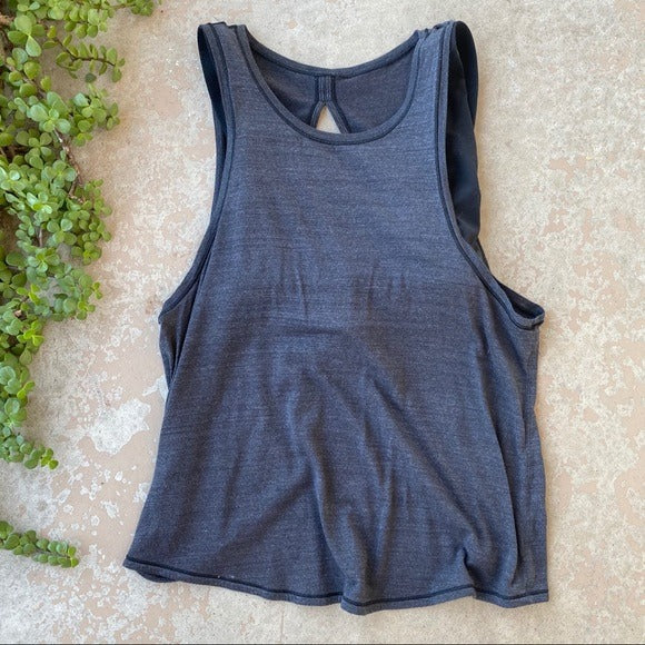 Lululemon Tank with Sports Bra, Size 6