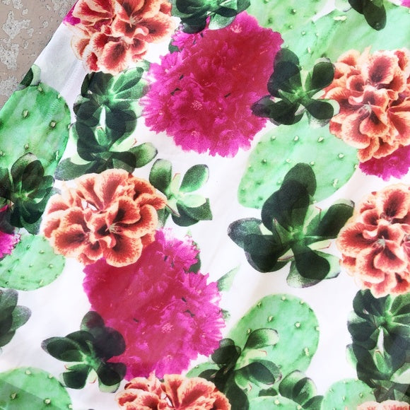 Show Me Your MuMu Cactus Bloom Dress, Size Small