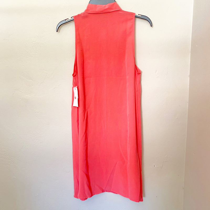 Equipment Pink Silk Dress, Size Small