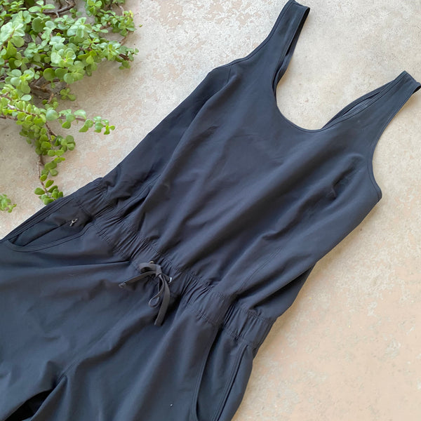 Patagonia Black Jumpsuit, Size Medium