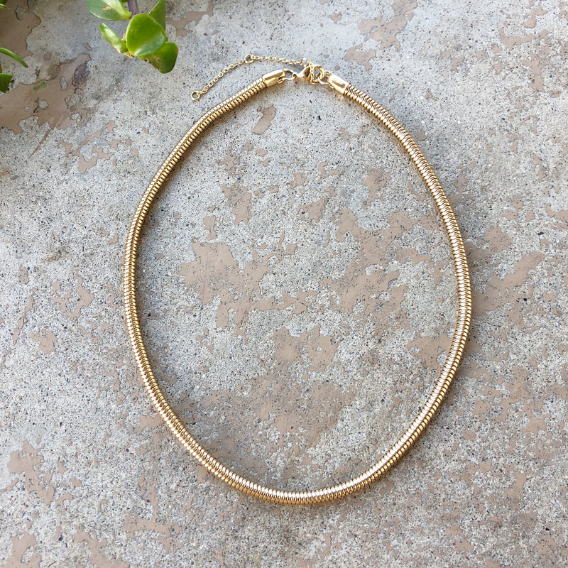 Simple Gold Necklace, From Nordstrom