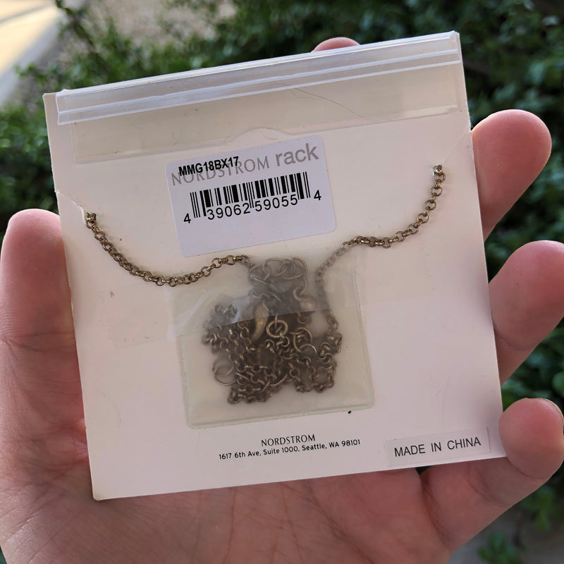 "Melrose and Market ""D"" Charm Necklace"