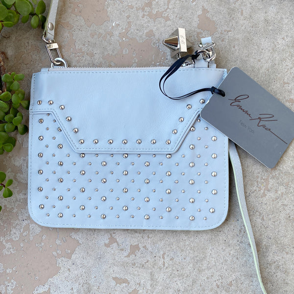 Emm Kuo Gray Leather Crossbody