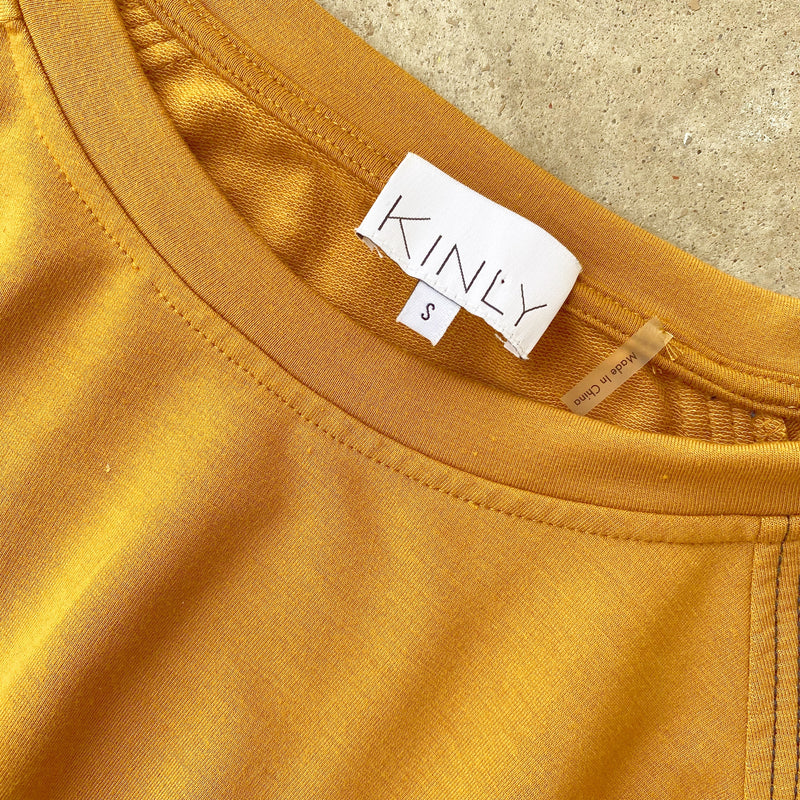 Kinly Peplum Sweatshirt, Size Small