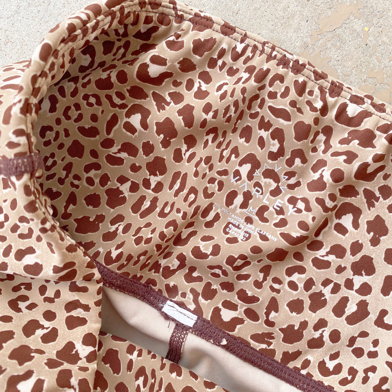 Varley Leopard Leggings, Size Medium