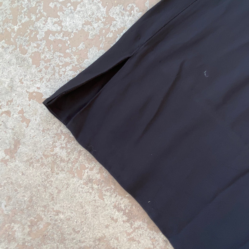 Black High Waist Wide Leg Pants, Size 10