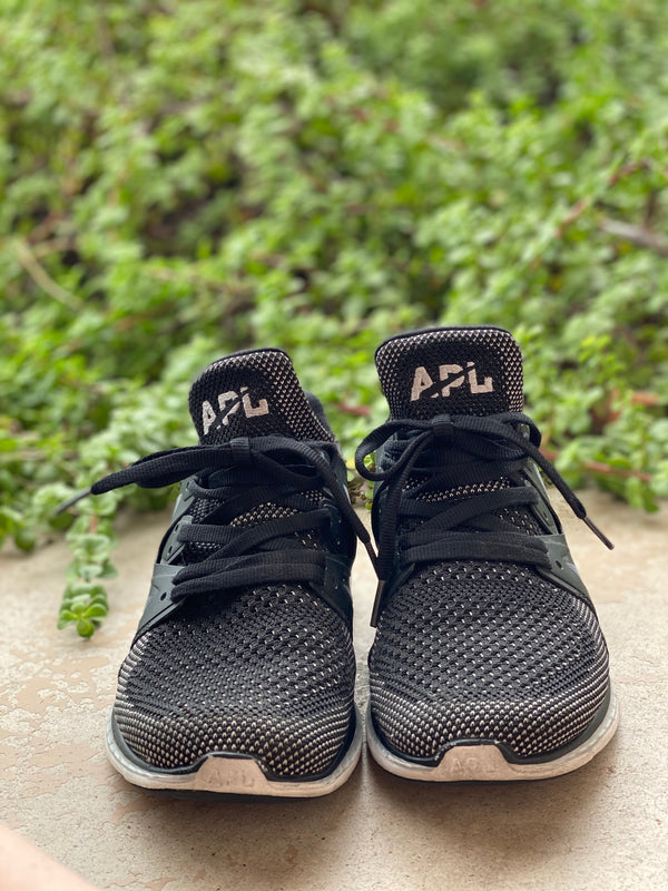 APL Black Sneakers, Size 7.5