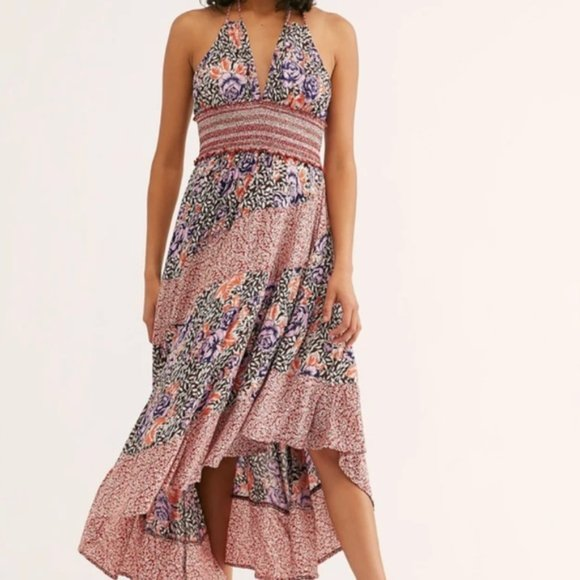 Free People Intimately Gabriela Asymmetrical Dress, Size XS