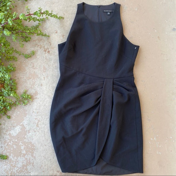 Black Halo Sleeveless Mini Dress, Size 12