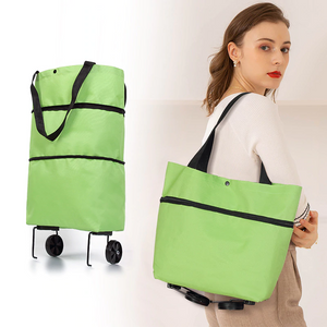 Foldable Shopping Trolley Tote Bag - Happy Snappy Gifts