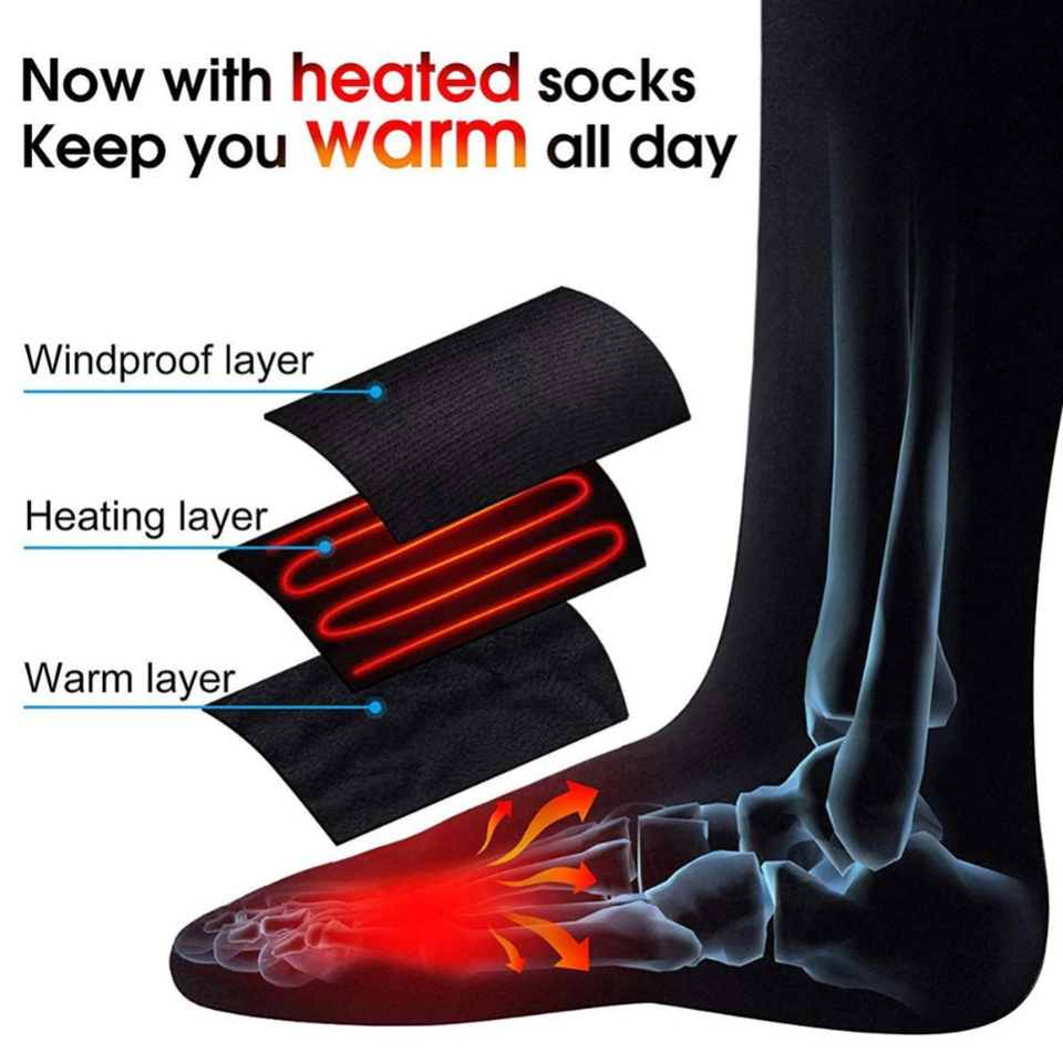Electric Heating Socks - Happy Snappy Gifts