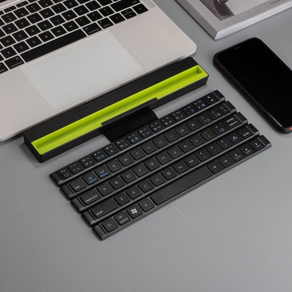 Foldable Wireless Bluetooth Keyboard - Happy Snappy Gifts