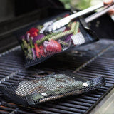 Non-Stick Mesh BBQ Grilling Bag - Happy Snappy Gifts