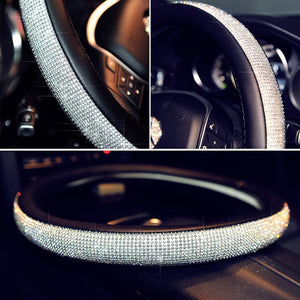 Crystal Steering Wheel Cover - Happy Snappy Gifts