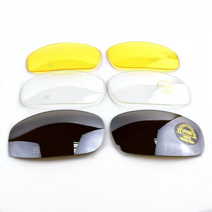 Outdoor Sport C5 X7 Polarized Sunglasses With 4 Lens - Happy Snappy Gifts