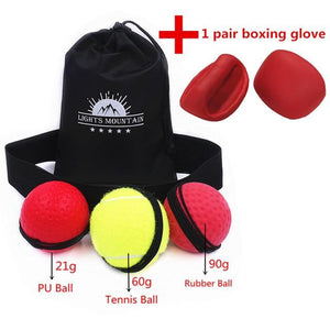 Boxing Reflex Speed Ball - Happy Snappy Gifts
