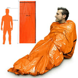 Outdoor Thermal Emergency Sleeping Bag - Happy Snappy Gifts