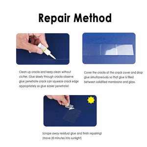 Glass Repair Fluid Window Kit - Happy Snappy Gifts