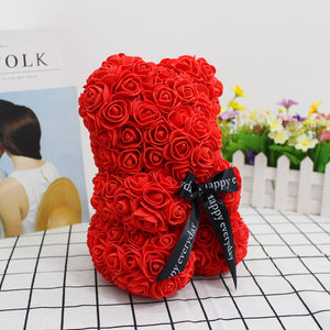 Rose Teddy Bear - Happy Snappy Gifts