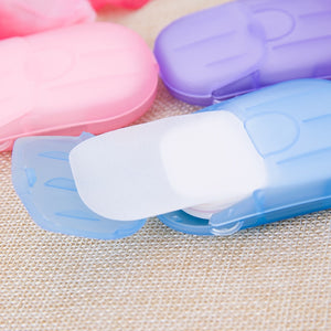 20Pcs Travel Disposable Soap Paper - Happy Snappy Gifts