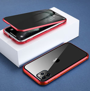 Magnetic Privacy Glass Case for All iPhones - Happy Snappy Gifts