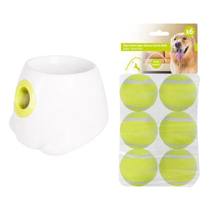 Automatic Tennis Ball Launcher For Dogs - Happy Snappy Gifts