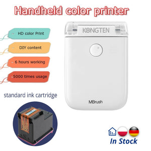 Portable Mobile Colour Printer - Happy Snappy Gifts