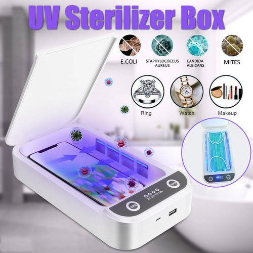 Phone UV Steriliser Box Disinfect Your Phone With Aromatherapy - Happy Snappy Gifts