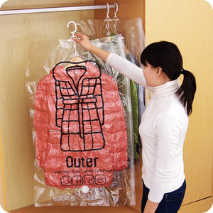 Hanging Organiser Vacuum Storage Bag - Happy Snappy Gifts