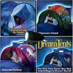 Dream Bed Tents with Light