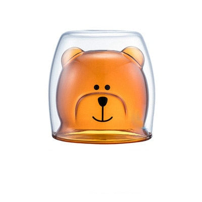 Double Walled Animal Glass
