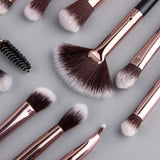 Anmor Makeup Brushes Set 12 Pcs - Happy Snappy Gifts