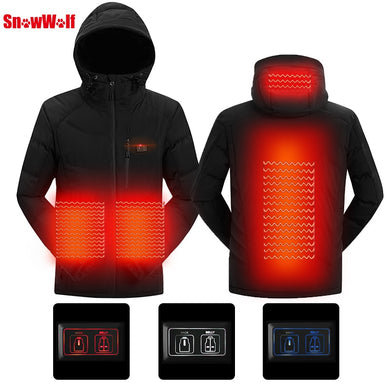 USB Infrared Heating Jacket - Happy Snappy Gifts
