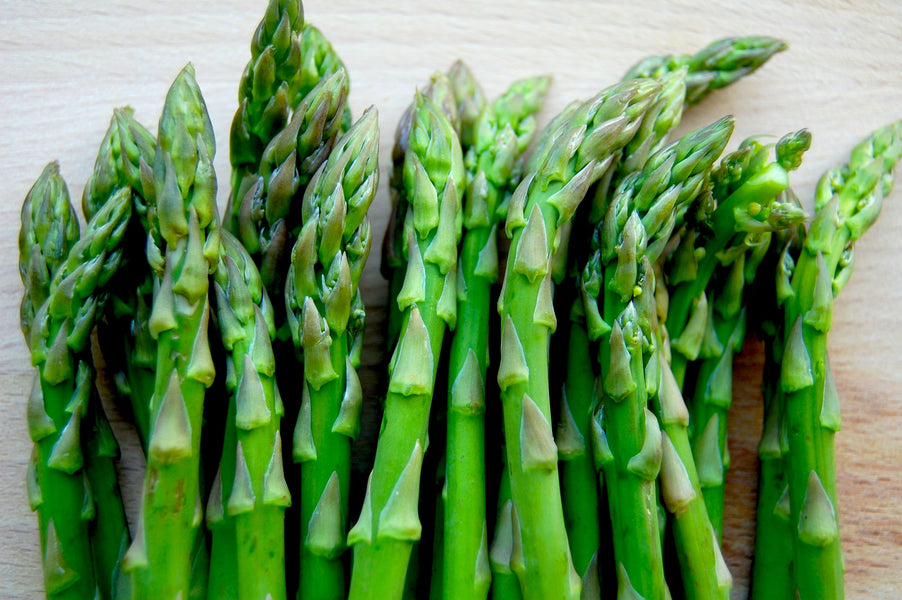 Asparagus and Spring Greens Salad