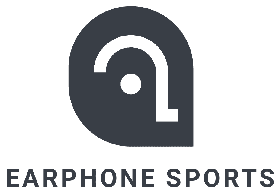 logo earphone sports