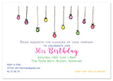 Bauble Garland - Personalised Personalised Stationery