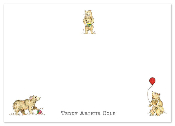 Bears - Personalised Personalised Stationery