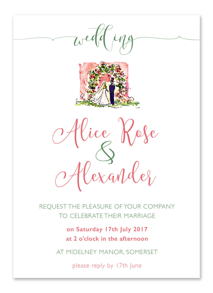 Bride & Groom - Personalised