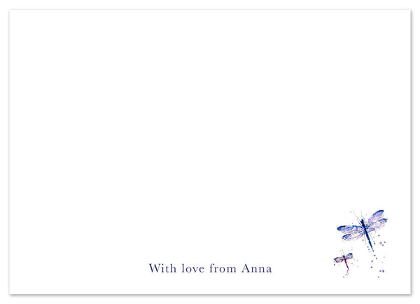 Dragonflies - Personalised Personalised Stationery