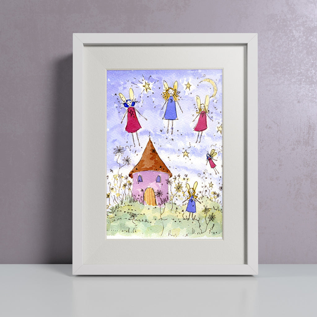 Fairy House - Personalised Print
