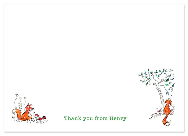 Woodland - Personalised Personalised Stationery