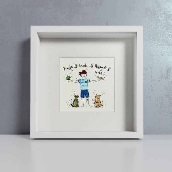 Little Boys - Personalised Print